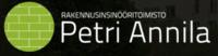 Rakennusinsinööritoimisto Petri Annila logo